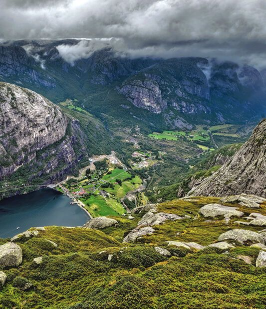 Prestige car hire in Norway
