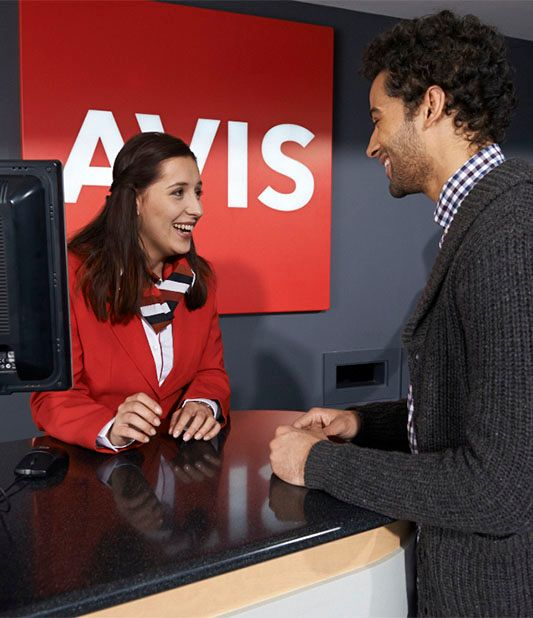Contact Avis' customer services team