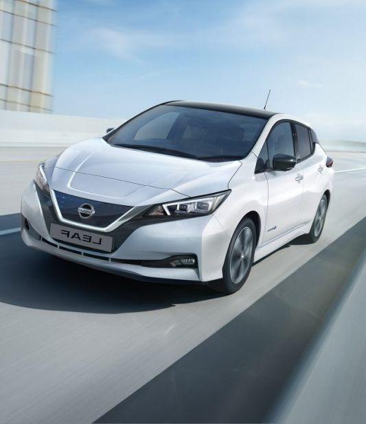 Nissan Leaf elektromos autó Avis
