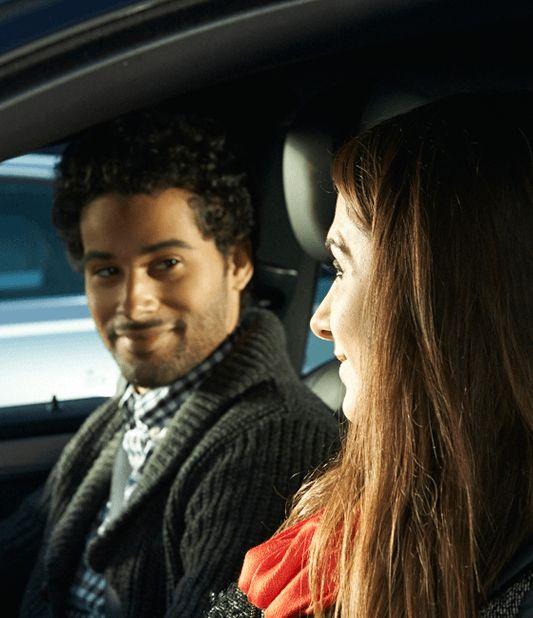 voiture avec conducteur additionnel