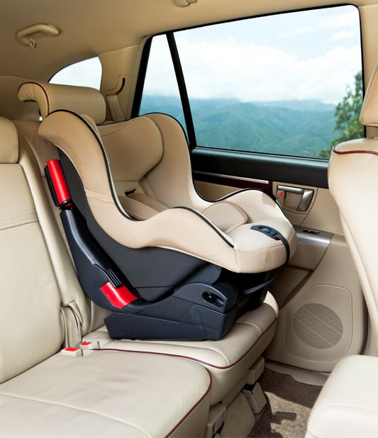 Child seats for your car hire