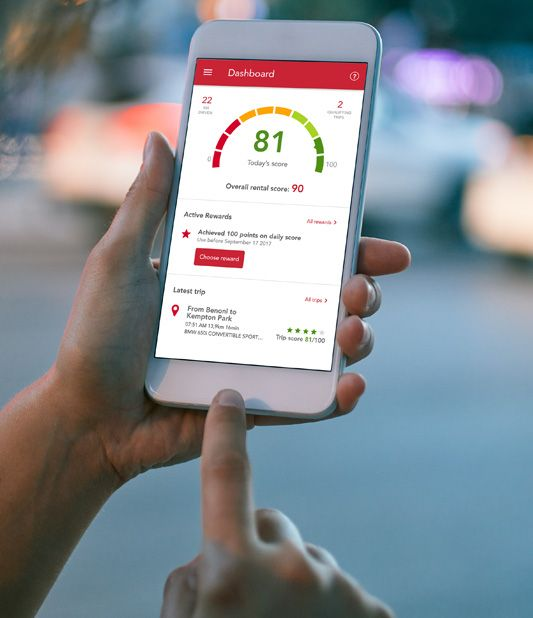 Stay protected with Avis SafeDrive