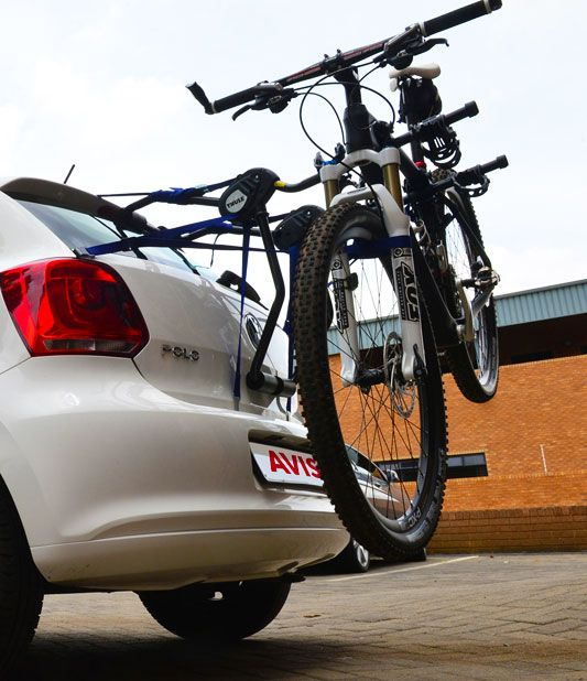Add a bike rack to your Avis car rental
