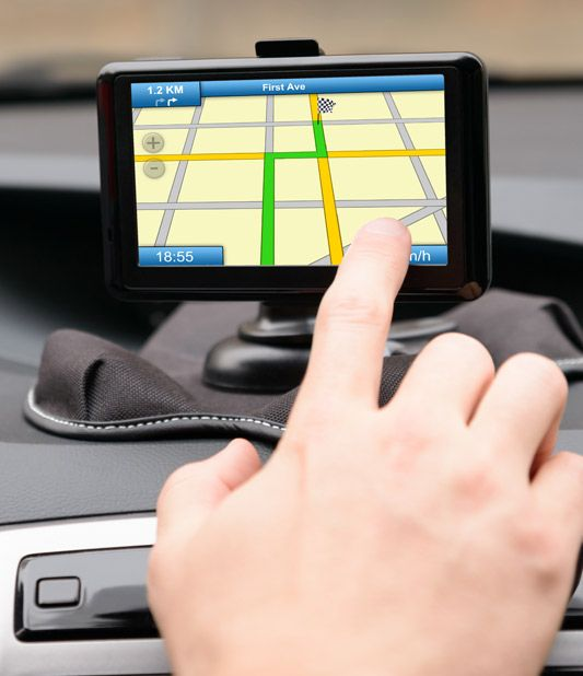 GPS hire with your car rental