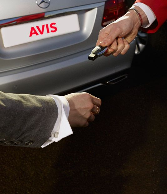 Avis delivers hire cars