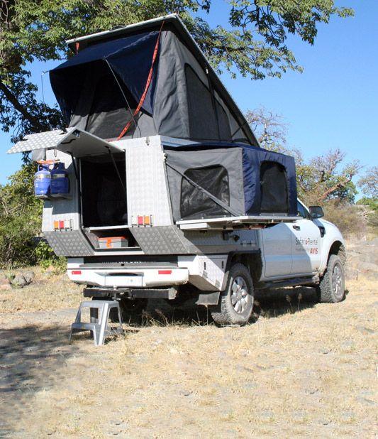 Alu Cab reviews the Czechtv Ford Ranger Safari Camper
