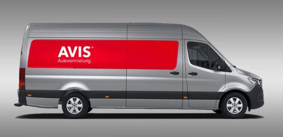 Transporter Angebote Avis LKW Mieten