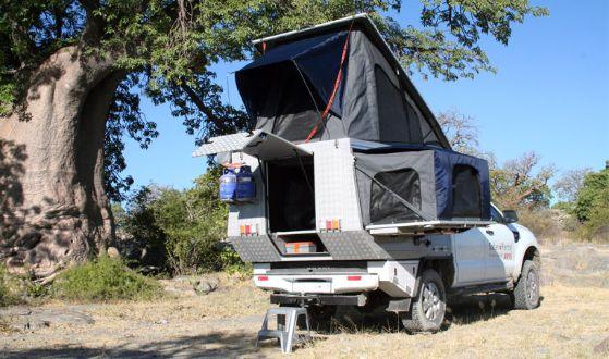 Self Drive Safari - Ford Ranger Group Camper | Avis Safari
