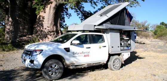 Self Drive Safari - Ford Ranger Group Camper | Avis Safari