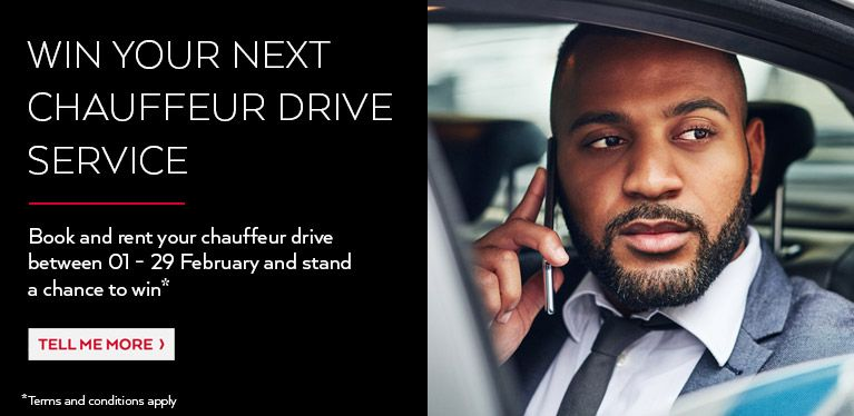 Win your next Avis Chauffeur Drive
