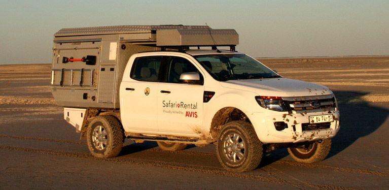 Self Drive Safari - Ford Ranger Group Camper | Avis Safari Rental