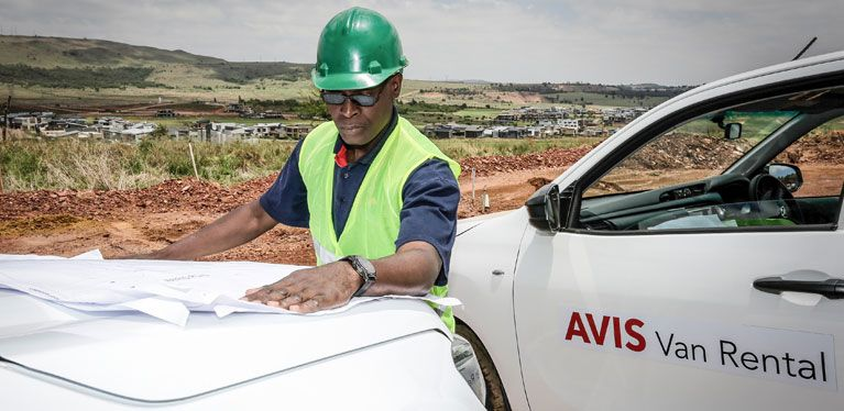 Avis Van Rental Bakkie Hire Van Rental South Africa