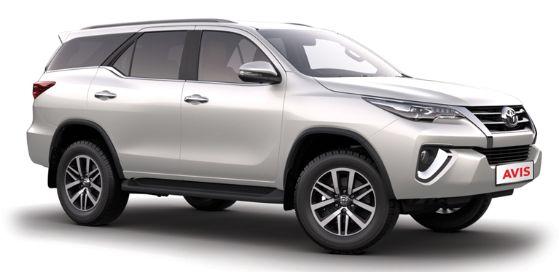 Avis Rent A Car Toyota Fortuner New Fleet