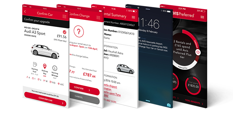 Car Hire On The Move With The Avis Car Hire App