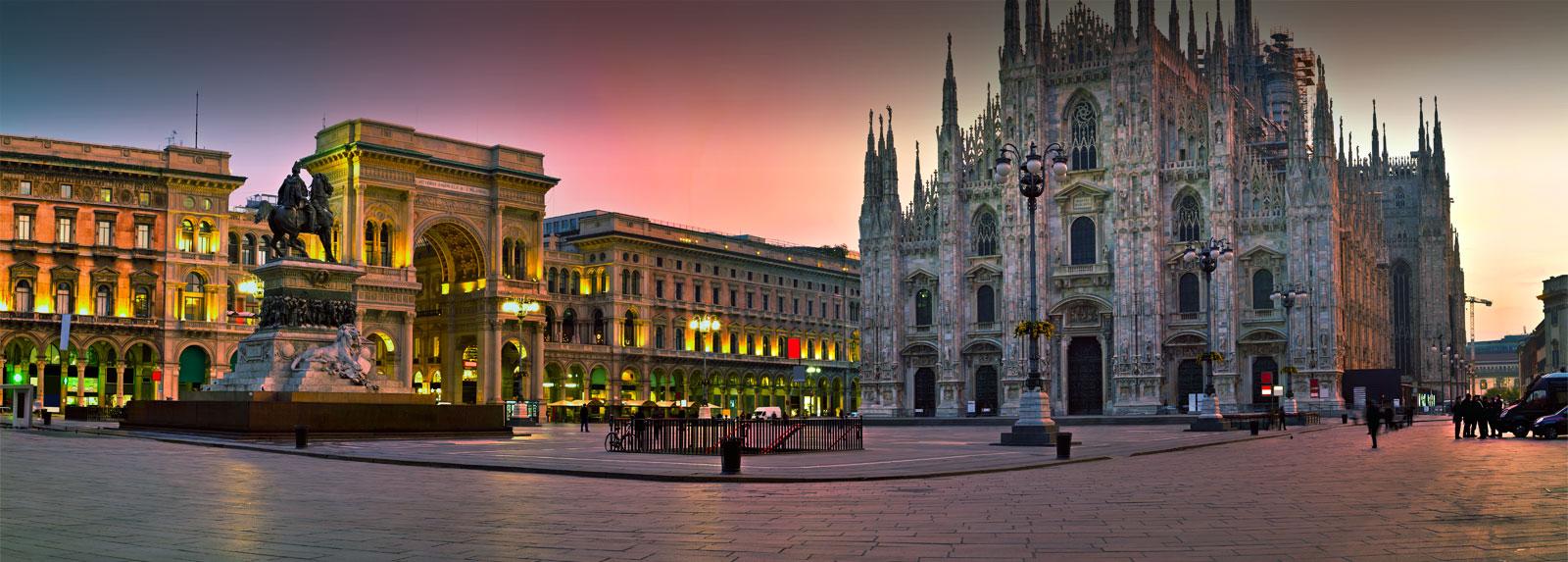 Путешествие в Милан