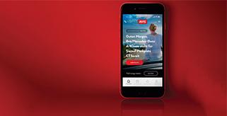 Avis Österreich mit Branchenneuheit: Kunden erhalten Kontrolle über die Fahrzeuganmietung per App