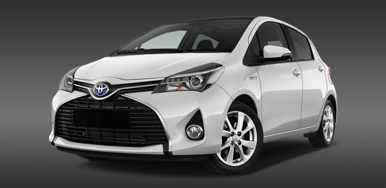 Hire a Toyota Yaris Hybrid from Avis