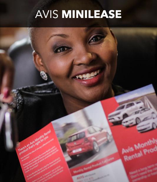 Minilease car hire from Avis
