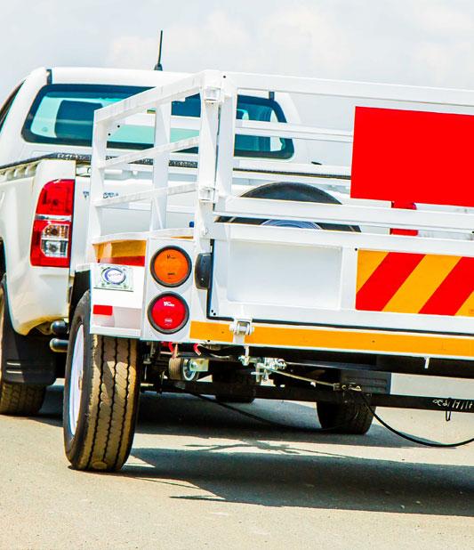 Hire a trailer for Avis Van Rental South Africa