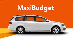Budget Mietwagen - Maxi Budget