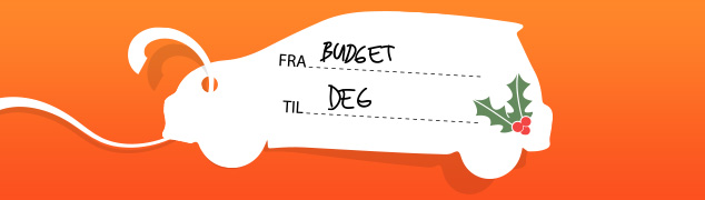 Juletilbud Budget Bilutleie