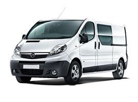 Bilexempel: Opel Vivaro (bilgrupp P)