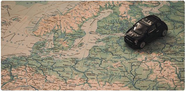 Gränsavgift när du ska resa utanför Sverige med hyrbilen