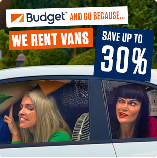Budget and Go because... we rent vans