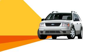 Budget car hire fleet