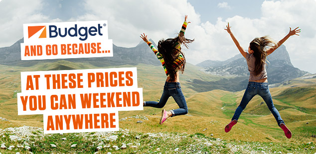 Budget - At these prices you can weekend anywhere