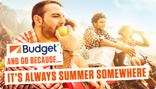 Budget and go - because it is always summer somewhere