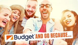 Up to 20% off Budget rentals