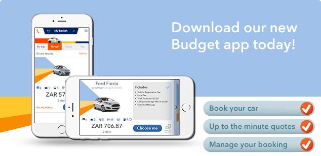 Car Rental Quotes Prepossessing Budget Mobile App  Budget Car Hire South Africa  Budget Car