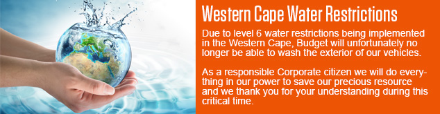 Western Cape Restriction