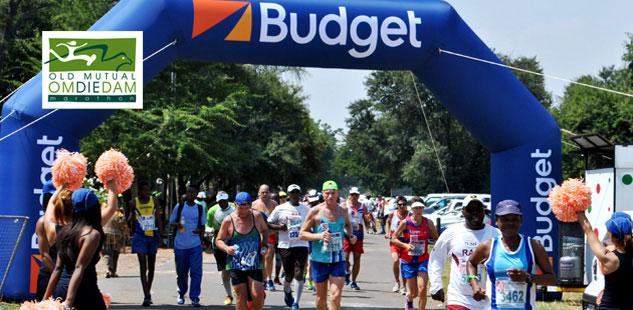 Budget is proud to partner with Om Die Dam Marathon