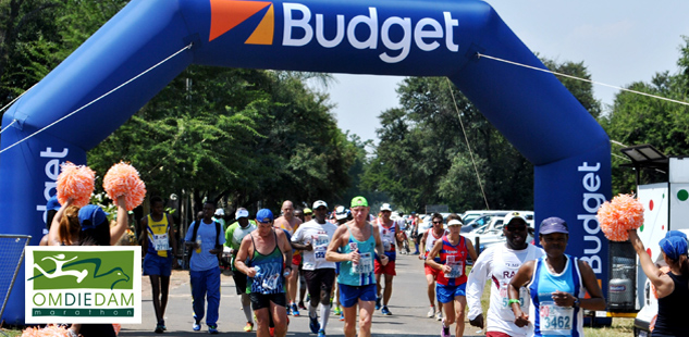 Budget is proud to partner with Om Die Dam Marathon