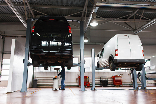 Avis commercial vehicles are operated outof specialist hubs