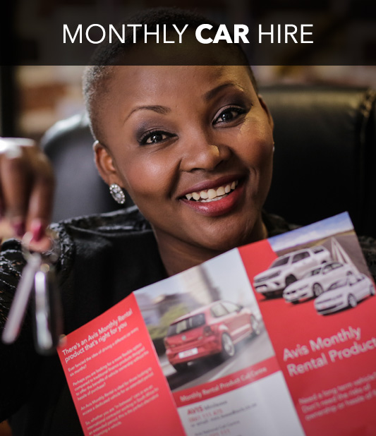 Monthly Car Hire in South Africa