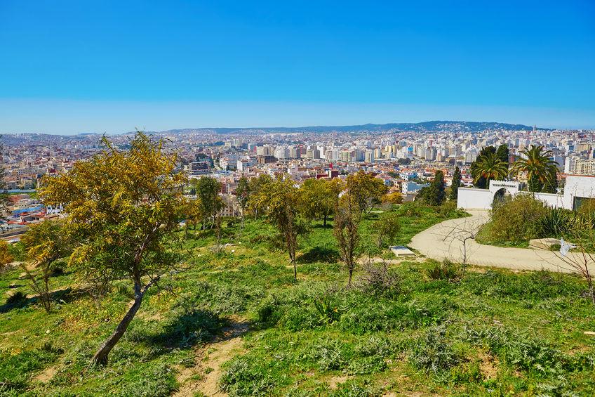 Vue de la ville par Avis Tanger