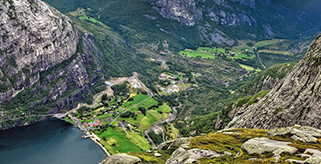 Prestige car hire in Norway