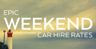 Weekend car hire