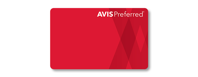 Avis Preferred loyality programme