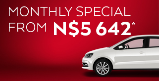 Monthly car hire rates Namibia