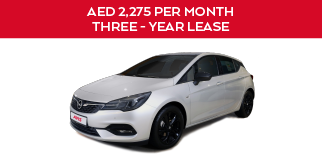 OPEL ASTRA ELEGANCE+ | 3 year Contract