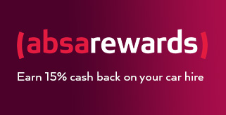 Book Avis car hire on Absa Rewards