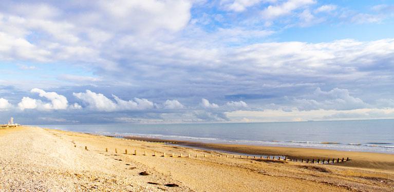 UK South coast beach
