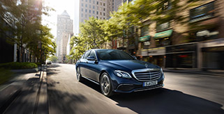 Neues Highlight in der Select Series Flotte: Der Mercedes-Benz E-Klasse 350 d