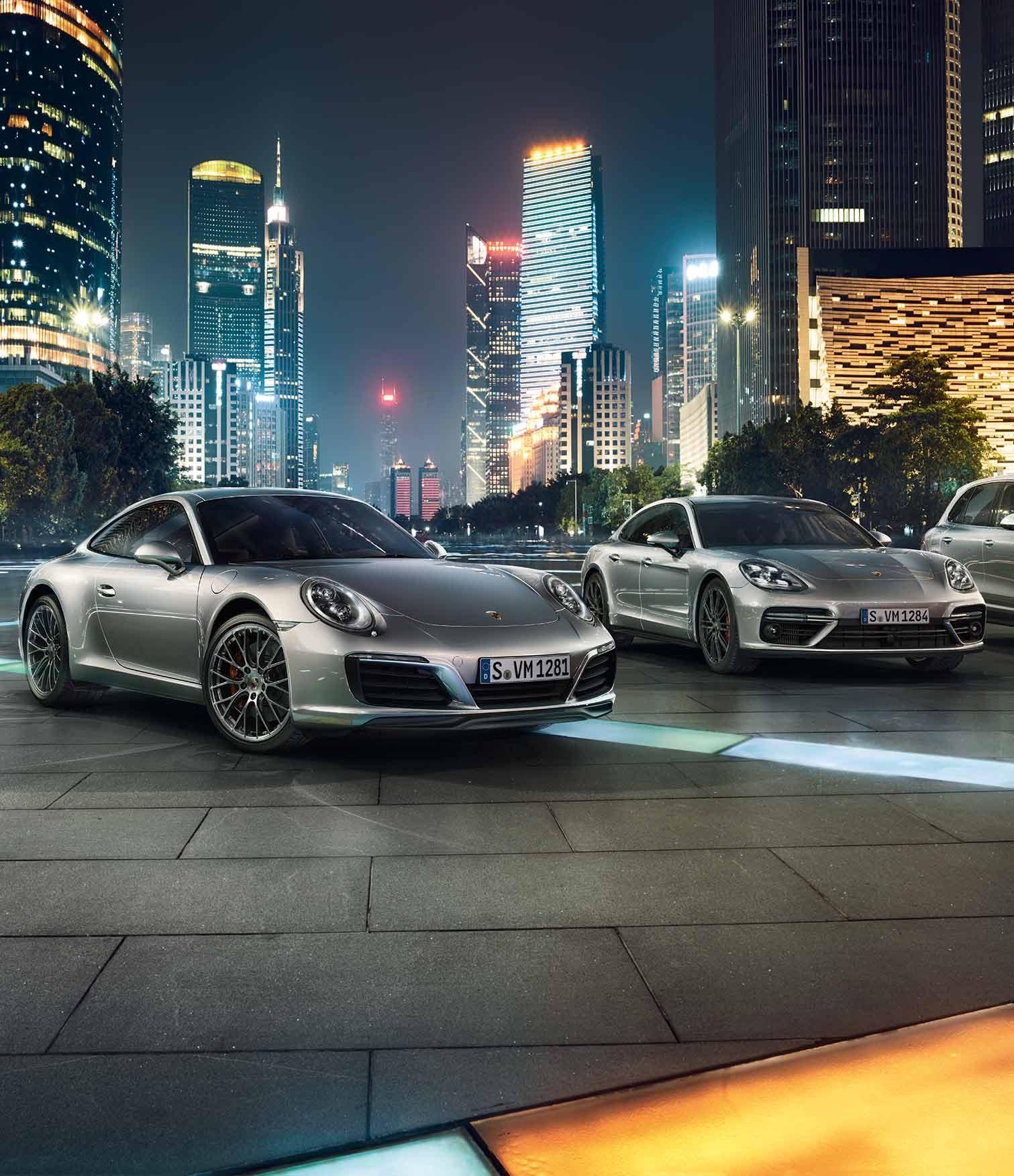 Hochzeitsauto Porsche