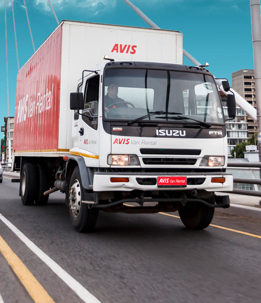 Long term truck hire with Avis