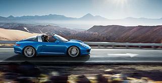 Porsche 911 Targa neu in Avis Prestige Flotte